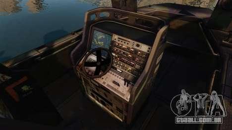 Navy SEALs SOC-R para GTA 4 vista de volta