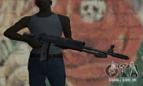O AK47 de STALKER para GTA San Andreas terceira tela