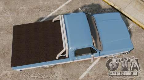 Chevrolet D-20 Custom para GTA 4 vista direita