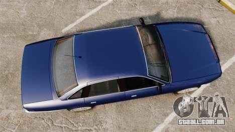 Civil Cruiser para GTA 4 vista direita
