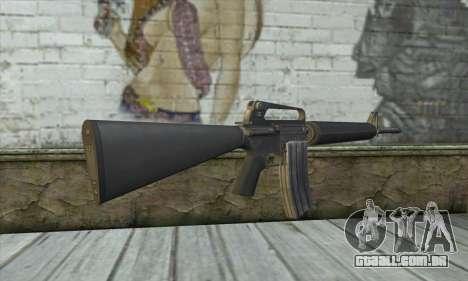 M4A1 из Postal 3 para GTA San Andreas segunda tela