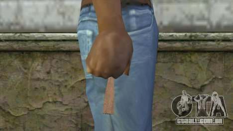 Cigar Teargas para GTA San Andreas terceira tela