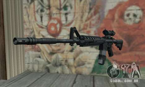 M4 RIS Acog Sight para GTA San Andreas