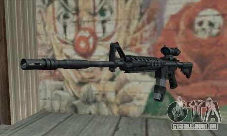 M4 RIS Acog Sight para GTA San Andreas