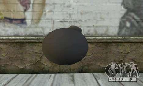 Pirate Grenade para GTA San Andreas segunda tela