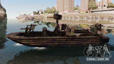 Navy SEALs SOC-R para GTA 4 esquerda vista