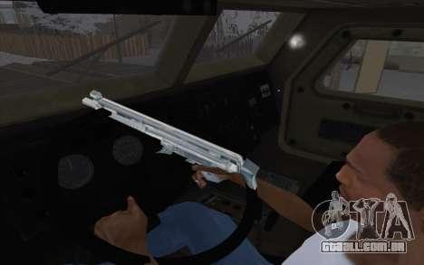 MRAP de BF4 para GTA San Andreas vista traseira