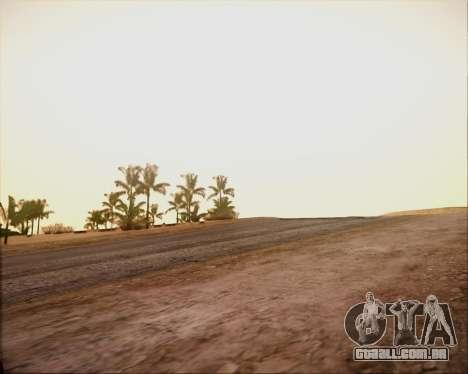 SA Graphics HD v 4.0 para GTA San Andreas quinto tela