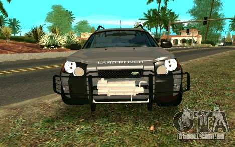 Land Rover Freelander para GTA San Andreas vista interior