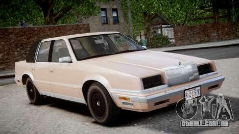 Chrysler New Yorker 1988 para GTA 4