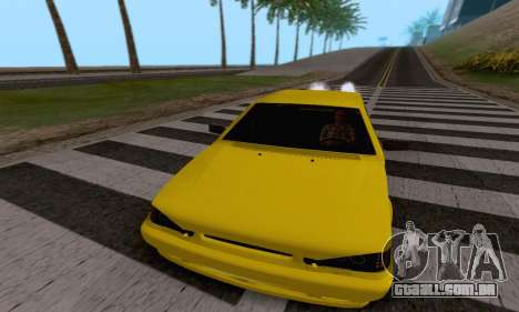 VAZ 2115 Diod para GTA San Andreas vista interior