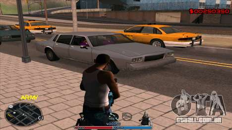 C-Hud Army by Kin para GTA San Andreas segunda tela