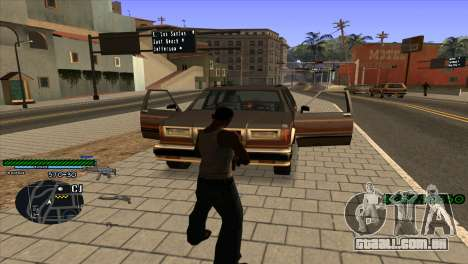C-HUD Solt para GTA San Andreas segunda tela
