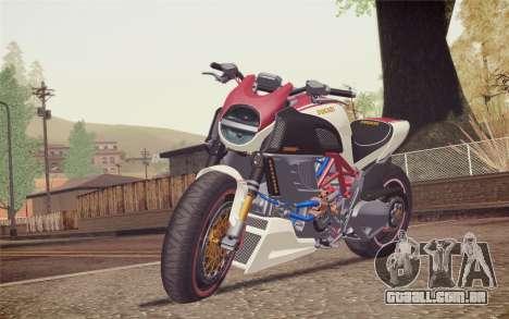 Ducati Diavel Carbon 2011 para GTA San Andreas