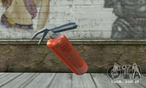 Extintor de incêndio para GTA San Andreas segunda tela