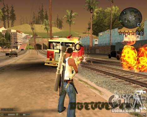 C-HUD CS:GO para GTA San Andreas terceira tela