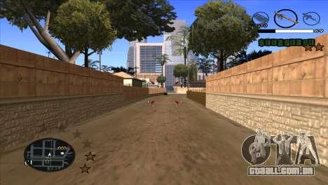 C-HUD by Djet para GTA San Andreas terceira tela