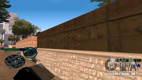 C-HUD Solt para GTA San Andreas terceira tela