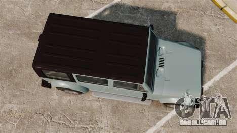 GTA V Canis Mesa para GTA 4 vista direita