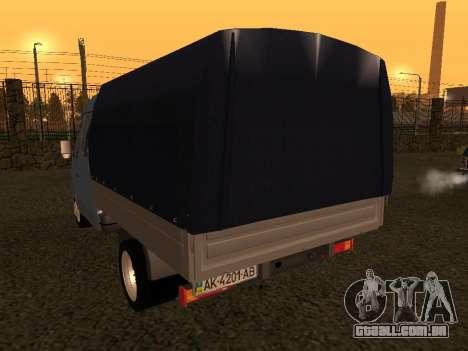 33023 Gazela para GTA San Andreas vista direita