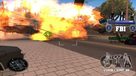 C-HUD FBI para GTA San Andreas terceira tela