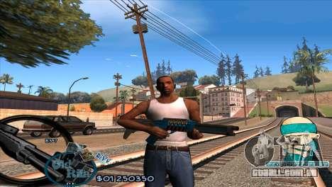 C-HUD Rifa by HARDy para GTA San Andreas