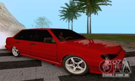 VAZ 2115 Diod para GTA San Andreas esquerda vista