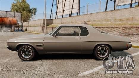 Holden Monaro GTS 1971 para GTA 4 esquerda vista
