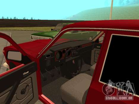 Volga GAZ 24-10 para GTA San Andreas vista traseira