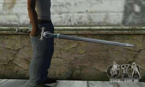 Gothic 2 Sword para GTA San Andreas terceira tela