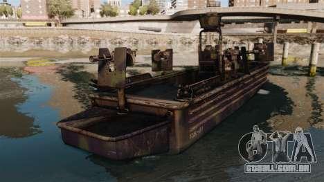 Navy SEALs SOC-R para GTA 4 traseira esquerda vista