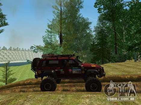 Jeep Grand Cherokee SRT8 para GTA San Andreas esquerda vista