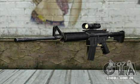 M4A1 Carbine Assault Rifle para GTA San Andreas