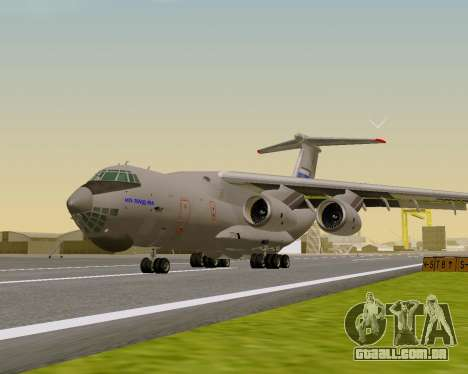 Il-76md-90 (IL-476) para GTA San Andreas esquerda vista