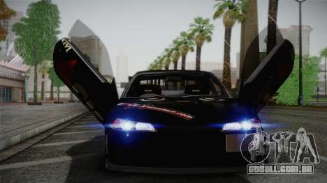 Nissan S15 Street Edition Djarum Black para GTA San Andreas vista interior