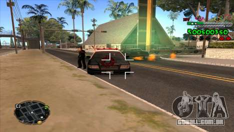 C-HUD Advance para GTA San Andreas terceira tela