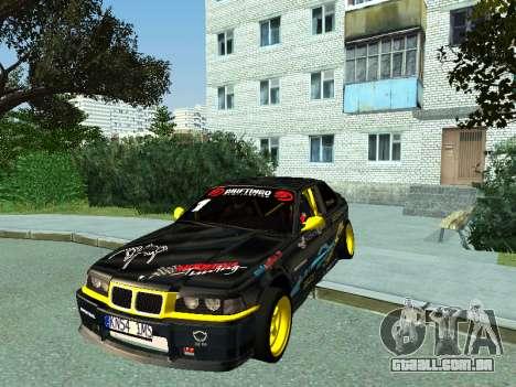 BMW M3 E36 Compact Darius Kepezinskas para GTA San Andreas