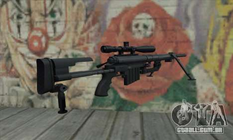 Black M200 Intervention para GTA San Andreas segunda tela