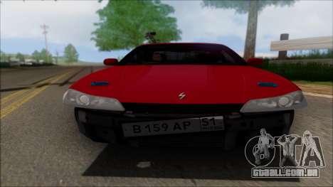 Nissan Silvia S15 V2 para GTA San Andreas vista interior