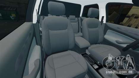 Ford Mondeo Estate Police Dog Unit [ELS] para GTA 4 vista inferior
