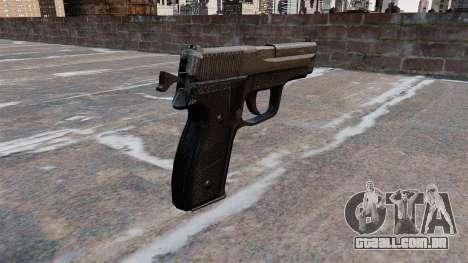 SIG-Sauer P228 pistola para GTA 4 segundo screenshot