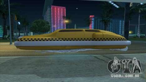 Taxi 5 Element para GTA San Andreas vista direita
