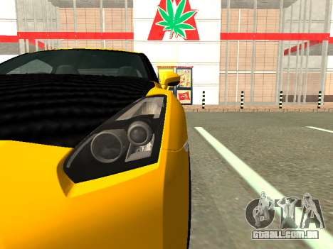 Nissan GT-R AMS Alpha 12 para GTA San Andreas vista direita