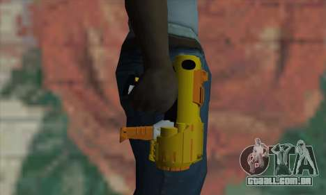 Nerf Gun para GTA San Andreas terceira tela