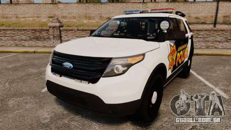 Ford Explorer 2013 LCPD [ELS] v1.5X para GTA 4