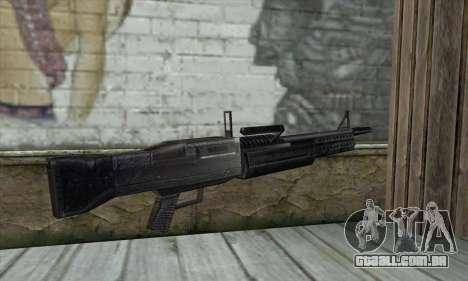 Arma para GTA San Andreas segunda tela