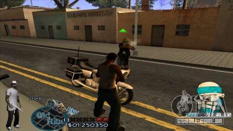 C-HUD Rifa by HARDy para GTA San Andreas terceira tela