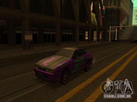 Vinis para Elegy para GTA San Andreas esquerda vista