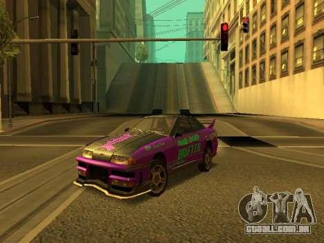 Vinis para Elegy para GTA San Andreas vista direita