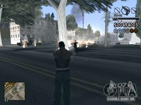C-HUD v1.0 para GTA San Andreas